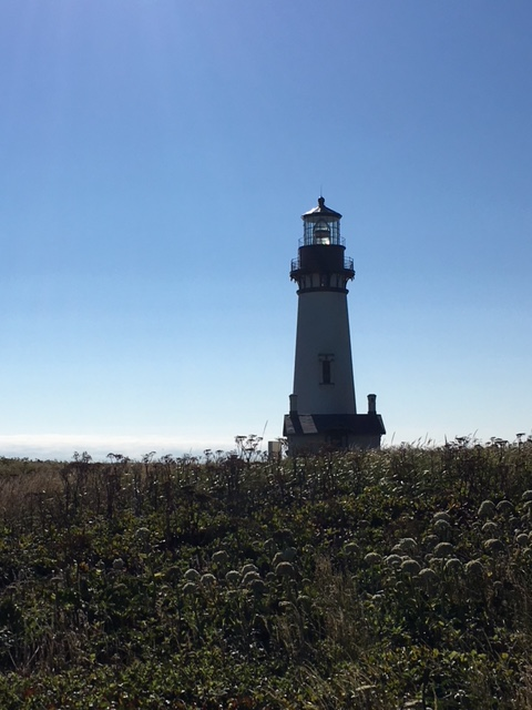 Yaquina Head Lighthouse in Newport Oregon