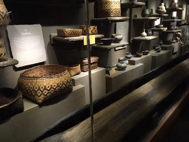 Cherokee baskets and pots