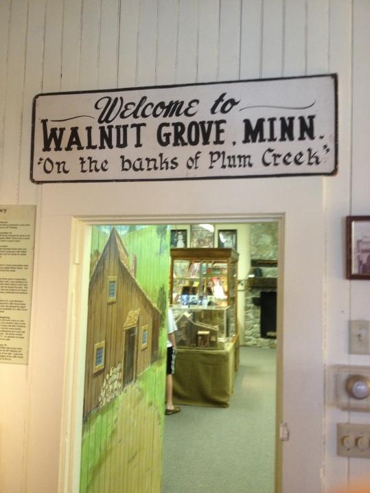 Museum entrance Walnut Grove