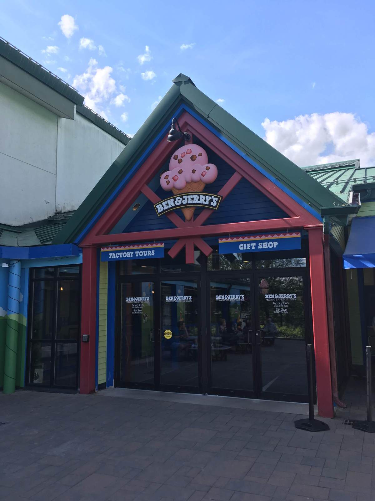 Ben&Jerry's front entrance